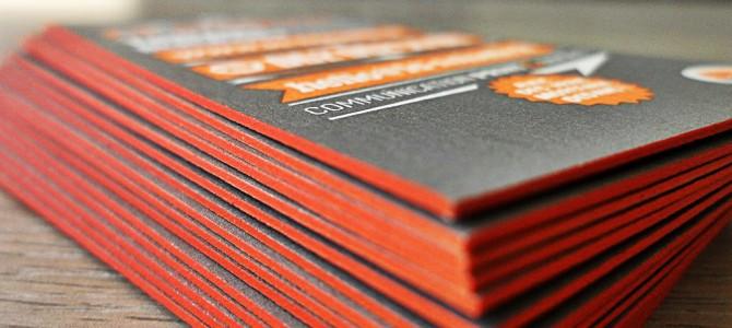 Découvrez les cartes aux tranches colorées !