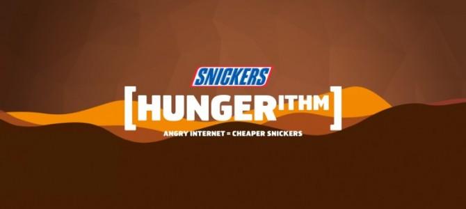 Un algorithme qui mesure la faim sur les réseaux sociaux ? Snickers l'a fait !