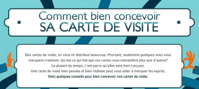 Infographie Bien Concevoir Votre Carte De Visite