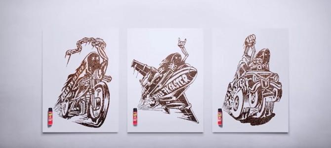 Roach Art : opération marketing par la marque RAID